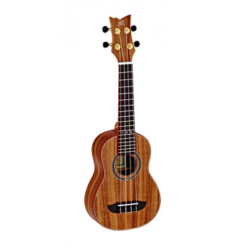 Ortega RUACA-SO Acacia Series Укулеле сопрано с чехлом