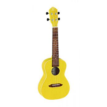 Ortega RUSUN Earth Series Укулеле концертный желтый