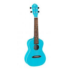 Ortega RULAGOON Earth Series Укулеле концертный голубой