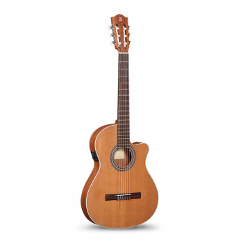 Alhambra 8.010 Z-Nature CT EZ Классическая гитара тонкий корпус со звукоснимателем