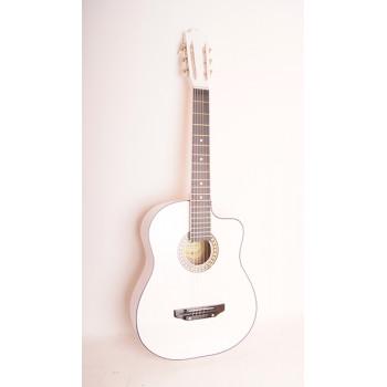 Ижевский завод Т.И.М 62CW Гитара акустическая с вырезом белая