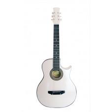 Ижевский завод Т.И.М 31CW Гитара акустическая с вырезом белая