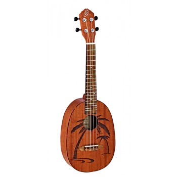 Ortega RUPA5MM-E Pineapple Series Укулеле концертный со звукоснимателем ананас