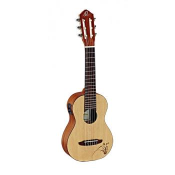 Ortega RGL5E Bonfire Series Гитарлеле 6-струнный со звукоснимателем