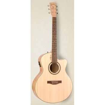 Simon & Patrick 036301 Wild Cherry CW MiniJumbo T35 Электро-акустическая гитара
