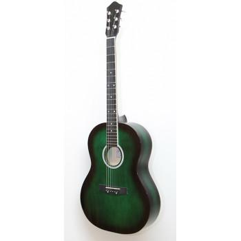 Амистар M-213-GR Акустическая гитара зеленая