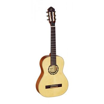 Ortega R121-1/2 Family Series Классическая гитара размер 1/2 матовая с чехлом