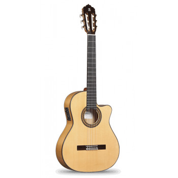 Alhambra 6.863 Flamenco Conservatory 7FC Классическая гитара со звукоснимателем с вырезом