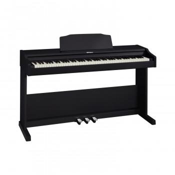 Roland RP102-BK цифровое фортепиано, 88 кл. PHA-4 Standard, 15 тембров,128 полифония, цвет черный.
