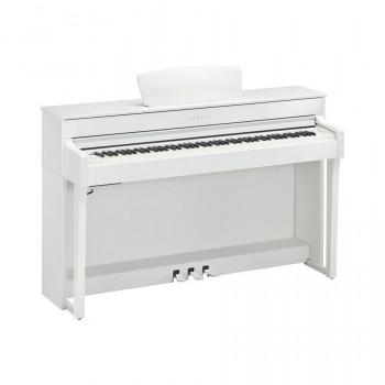 Yamaha CLP-635WH - клавинова 88кл.,клавиатура GH3X/256 полиф./36тембров/2х30вт/USB,цвет-белый