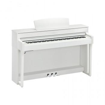 Yamaha CLP-645WH - клавинова 88кл.,клавиатура NWX/256 полиф./34тембра/2х50вт/USB,цвет-белый