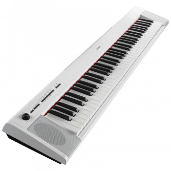 Yamaha NP-32WH - электропиано 76кл Graded Soft/64 полифония/10тембр/2х6Вт/БП,5,7кг, цвет белый