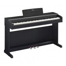 Yamaha YDP-144B -  клавинова 88 кл. GHS, 10 тембров, 192 полиф., 3 педали, крышка кл., (черный)