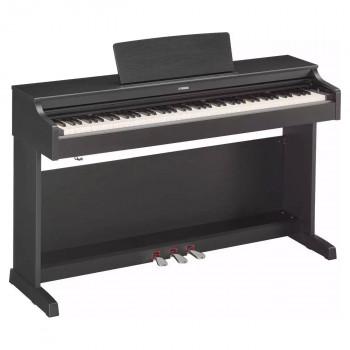 Yamaha YDP-163B -  клавинова 88 кл. GH3, 10 тембров, 192 полиф., 3 педали, крышка кл., (чёрный орех)
