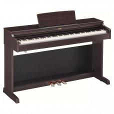 Yamaha YDP-163R -  клавинова 88 кл. GH3, 10 тембров, 192 полиф., 3 педали, крышка кл., (Палисандр)