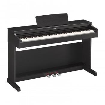 Yamaha YDP-164B -  клавинова 88 кл. GH3, 10 тембров, 192 полиф., 3 педали, крышка кл., (черный)