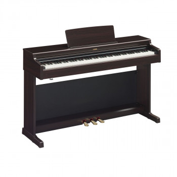 Yamaha YDP-164R -  клавинова 88 кл. GH3, 10 тембров, 192 полиф., 3 педали, крышка кл., (палисандр)