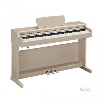 Yamaha YDP-164WA -  клавинова 88 кл. GH3, 10 тембров, 192 полиф., 3 педали,крышка кл., (белый ясень)