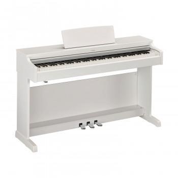Yamaha YDP-164WH -  клавинова 88 кл. GH3, 10 тембров, 192 полиф., 3 педали,крышка кл., (белый)
