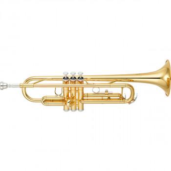 Yamaha YTR-3335 - труба Bb стандартная модель, средняя,  yellow brass, лак - золото