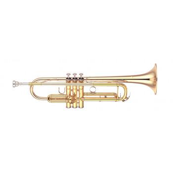 Yamaha YTR-4335GII - труба Bb студенческая,средняя ,gold brass bell, лак - золото