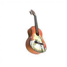 Barcelona CG10K/COLLINE 1/2 -  Набор: классическая гитара детская, размер 1/2 и аксессуары