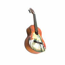 Barcelona CG10K/COLLINE 3/4 - Набор: классическая гитара, размер 3/4 и аксессуары