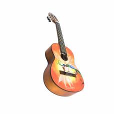 Barcelona CG10K/LUCIOLE 3/4 - Набор: классическая гитара , размер 3/4 и аксессуары
