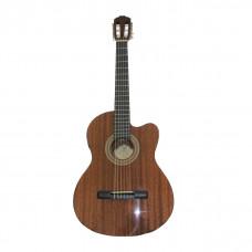Samick CN1CE/N - Классическая гитара с подключением,cut,анкер,красн. дерево (Индонезия).