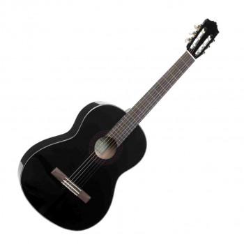 Yamaha C40BLACK - гитара классическая, корпус - меранти, верхняя дека - ель