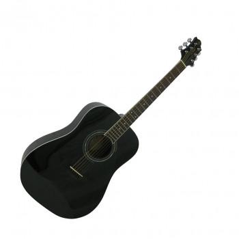 GregBennett D1/BK - Акустическая гитара, дредноут, Nato, анкер, ключ.(Индонезия)