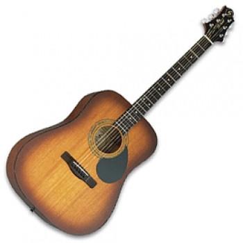 GregBennett D1/BS - Акустическая гитара, дредноут, Nato, анкер, ключ.(Индонезия)