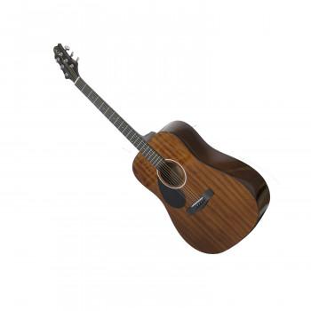 GregBennett D1/LH - Акустическая гитара, левосторонняя, dreadnought, Nato, анкер,ключ.(Индонезия)