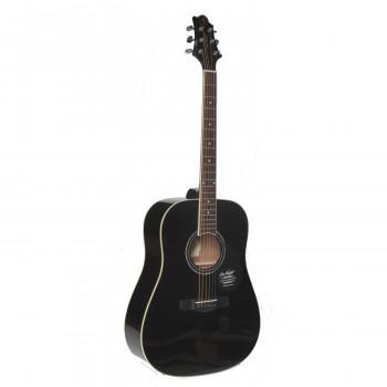 GregBennett GD100S/BK - Акустическая гитара, дредноут, Ель, анкер, ключ.(Индонезия)