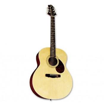 """GregBennett GJ100S/N - Акуст. гитара, корп. """"джамбо"""", ель, цвет натуральный"""