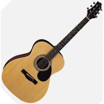 GregBennett OM2 - Акустическая гитара, Ель, анкер, ключ.(Индонезия)