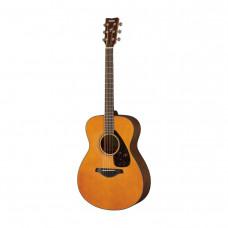 Yamaha FS800 T - акустич гитара, корпус компакт, верх. дека массив ели, цвет -светло-коричневый
