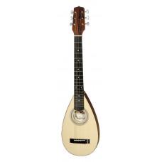 Hora S1250 (S1125) Travel Guitar Гитара овальная с чехлом