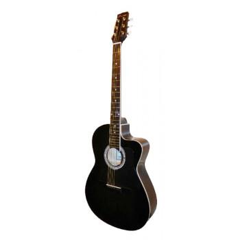Caraya C901T-BK Акустическая гитара с вырезом черная