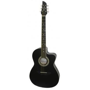 Caraya C931-BK Акустическая гитара с вырезом черная