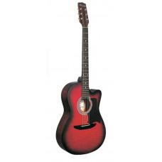 Caraya C901T-BS Акустическая гитара с вырезом санберст