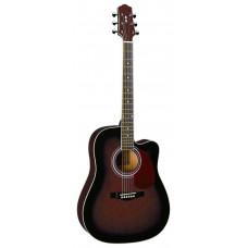 Naranda DG220CWRS Акустическая гитара с вырезом