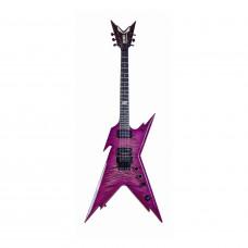 "Dean USA Razorback Flame top - электрогитара""стелс"",22 лада,Floyd rose,цвет- Trans Purple Burst"