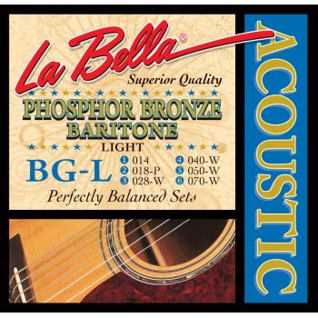 La Bella BG-L Комплект струн для гитары Баритон 14-70