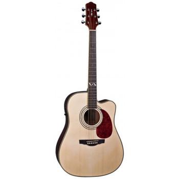 Naranda DG303CENA Акустическая гитара со звукоснимателем с вырезом