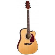 Naranda DG220CEN Акустическая гитара со звукоснимателем с вырезом